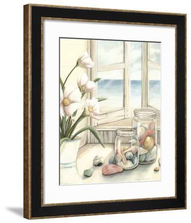 Beach House View I-Megan Meagher-Framed Giclee Print