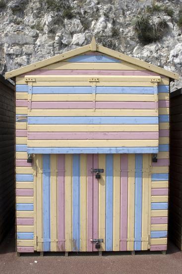 Beach Hut, Stone Bay, Broadstairs, Kent, England-Natalie Tepper-Photo