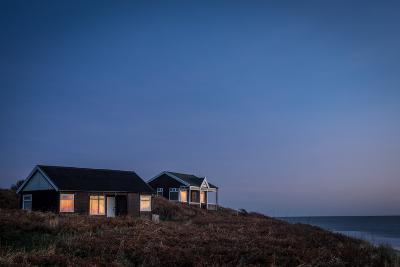 Beach Huts, Embleton Bay, Northumberland, England, United Kingdom, Europe-Bill Ward-Photographic Print