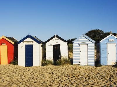 Beach Huts, Southwold, Suffolk, England, United Kingdom, Europe-Amanda Hall-Photographic Print