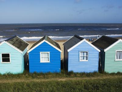 Beach Huts, Southwold, Suffolk, England, United Kingdom-Amanda Hall-Photographic Print