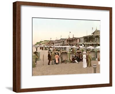 Beach Huts, Westerland, Germany, Pub. C.1895
