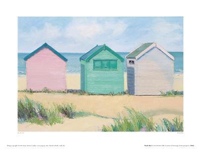 Beach Huts-Jane Hewlett-Giclee Print