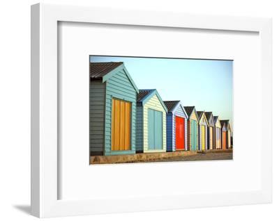 Beach Huts-instinia-Framed Photographic Print