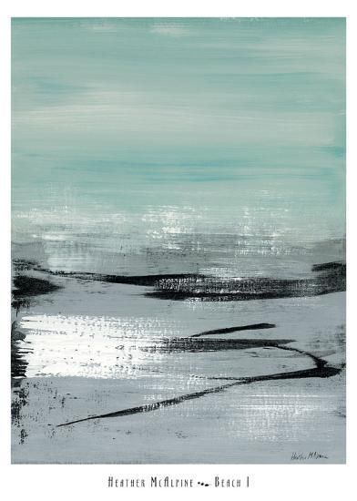 Beach I-Heather Mcalpine-Art Print