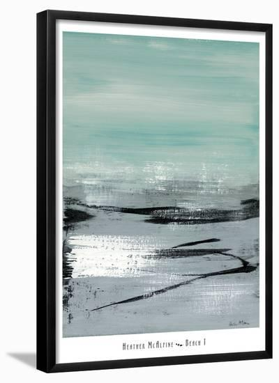 Beach I-Heather Mcalpine-Framed Art Print