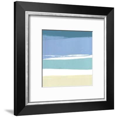 Beach I-Cathe Hendrick-Framed Art Print