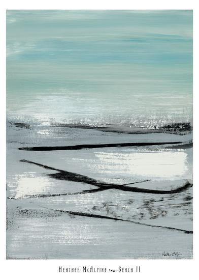 Beach II-Heather Mcalpine-Art Print