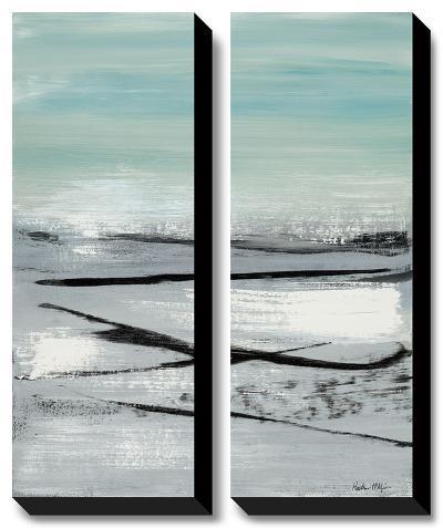 Beach II-Heather Mcalpine-Canvas Art Set