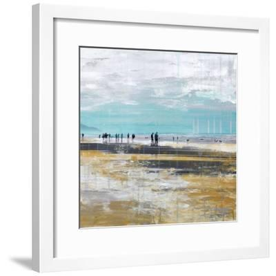 Beach III-Clara Summer-Framed Art Print
