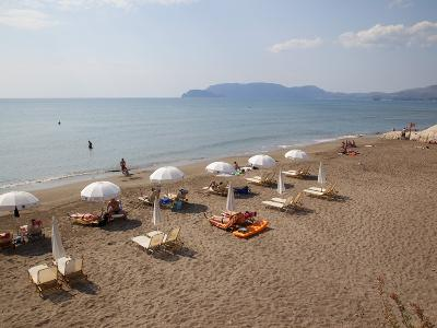 Beach, Kalamaki, Zakynthos, Ionian Islands, Greek Islands, Greece, Europe-Frank Fell-Photographic Print