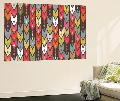 Beach Knit Ikat Arrow-Sharon Turner-Wall Mural