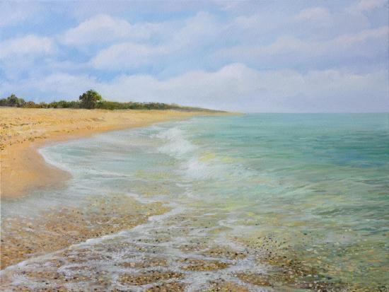 Beach Krapetz-kirilstanchev-Art Print