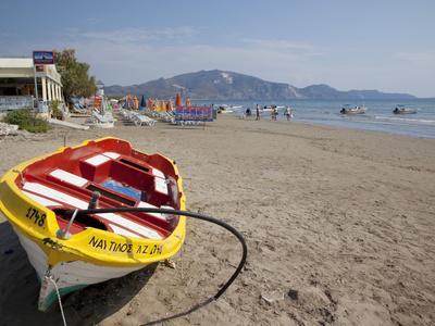 Beach, Laganas, Zakynthos, Ionian Islands, Greek Islands, Greece, Europe-Frank Fell-Photographic Print