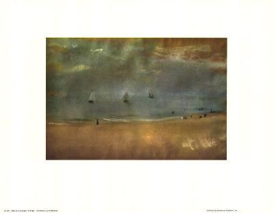Beach Landscape-Edgar Degas-Art Print