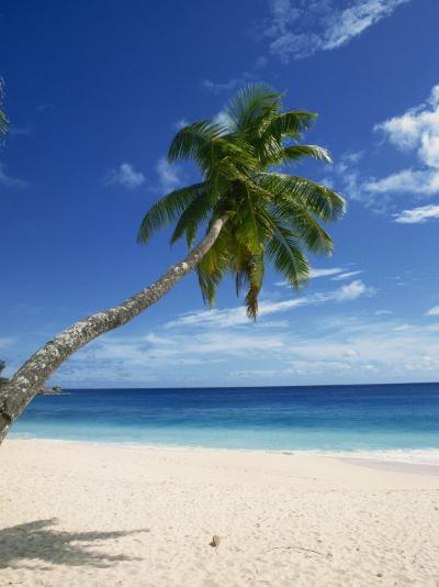 Beach, Mahe, Seychelles, Indian Ocean, Africa-Robert Harding-Photographic Print