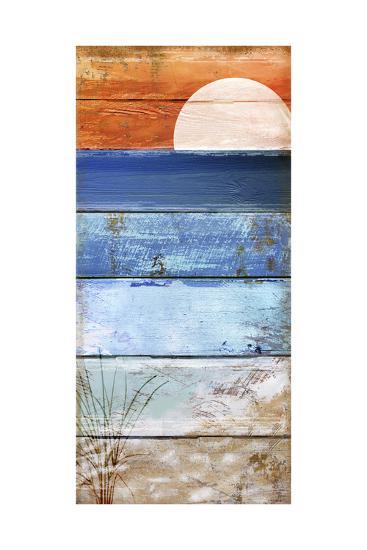 Beach Moonrise II-Color Bakery-Giclee Print