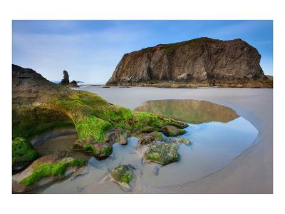 Beach near Bandon, Oregon, USA--Art Print