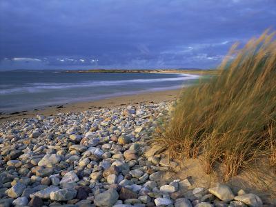 Beach Near Doogort, Achill Island, County Mayo, Connacht, Republic of Ireland, Europe-Patrick Dieudonne-Photographic Print