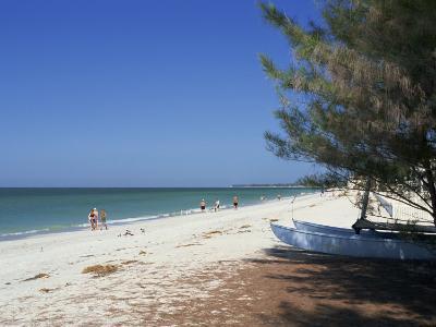 Beach North of Longboat Key, Anna Maria Island, Gulf Coast, Florida, USA-Fraser Hall-Photographic Print