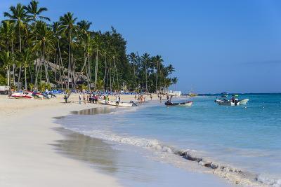 Beach of Bavaro, Punta Cana, Dominican Republic, West Indies, Caribbean, Central America-Michael-Photographic Print