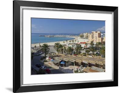 Beach of Can Pastilla, Majorca, Spain-Rainer Mirau-Framed Photographic Print