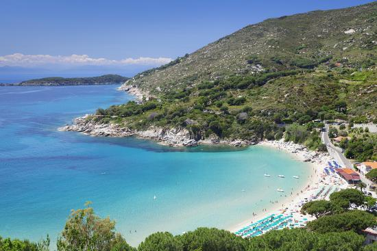 Beach of Cavoli, Island of Elba, Livorno Province, Tuscany, Italy-Markus Lange-Photographic Print