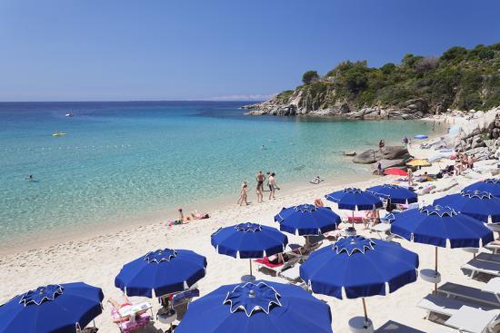 Beach Of Cavoli Island Elba Livorno Province Tuscany Italy Photographic Print By Markus Lange Art