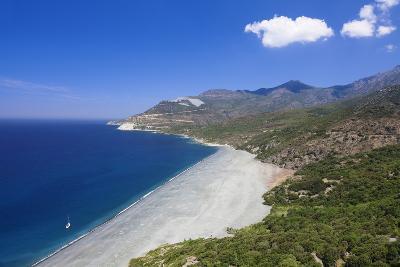 Beach of Nonza, Corsica, France, Mediterranean, Europe-Markus Lange-Photographic Print