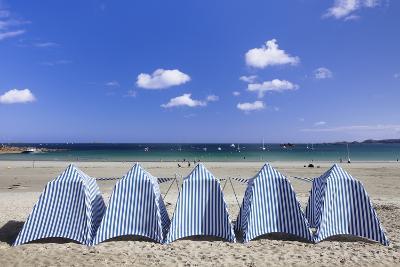 Beach of Perros Guirec, Cote De Granit Rose, Cotes D'Armor, Brittany, France, Europe-Markus Lange-Photographic Print