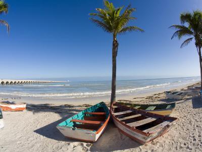 Beach of Progreso, Yucatan, Mexico-Julie Eggers-Photographic Print