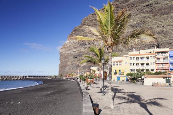 Beach of Puerto De Tazacorte, La Palma, Canary Islands, Spain, Atlantic, Europe-Markus Lange-Photographic Print