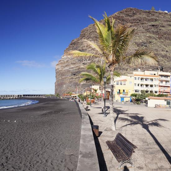 Beach of Puerto De Tazacorte, La Palma, Canary Islands, Spain, Europe-Markus Lange-Photographic Print
