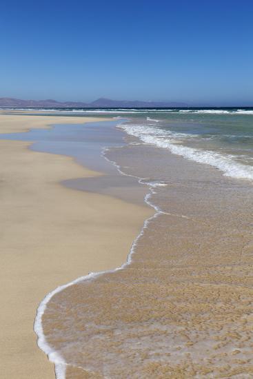 Beach of Risco Del Paso, Fuerteventura, Canary Islands, Spain, Atlantic, Europe-Markus Lange-Photographic Print