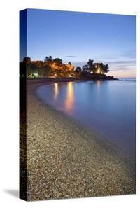 Beach of Santa Maria Navarrese, District of Baunei, Province of Ogliastra, Sardinia, Italy