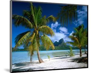 Beach on Bora Bora, Island of Tahiti, French Polynesia, The South Seas