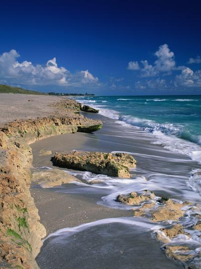 Beach on Jupiter Island-James Randklev-Photographic Print