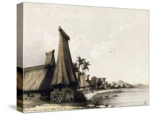 Beach on Mbau Island in 1848