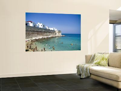 Beach on Summer Morning-Pamela Valente-Wall Mural