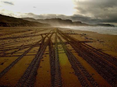 Beach on the Island of Islay in Scotland--Photographic Print