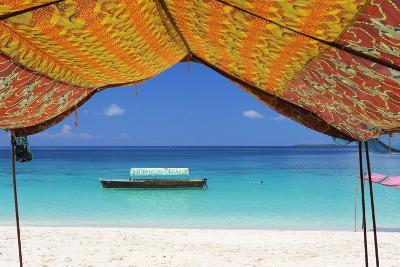 Beach, Pange Island, Zanzibar, Tanzania, East Africa, Africa-Vincenzo Lombardo-Photographic Print