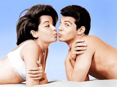 Beach Party, Annette Funicello, Frankie Avalon, 1963--Photo