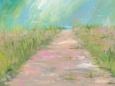 Beach Path-Terri Einer-Art Print