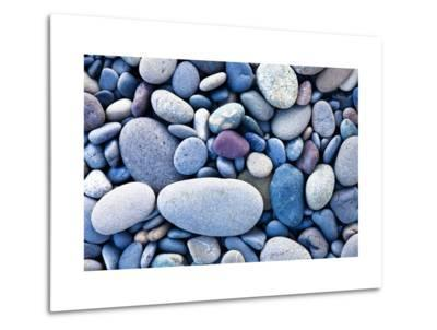Beach Pebbles-Acer Images-Metal Print