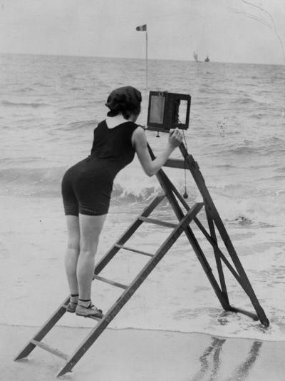 Beach Photographer--Photographic Print