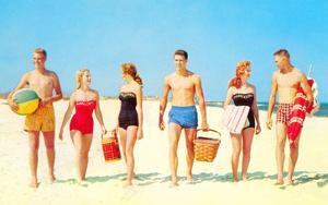 Beach Picnic, Retro