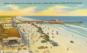Beach, Pier, Jacksonville, Florida