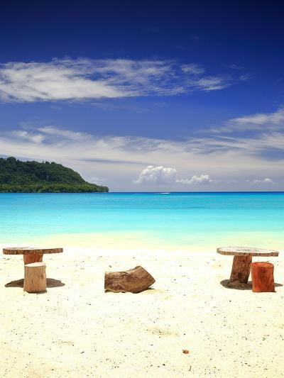 Beach-Port Olry-Espiritu Santo-Vanuatu- livcool-Photographic Print