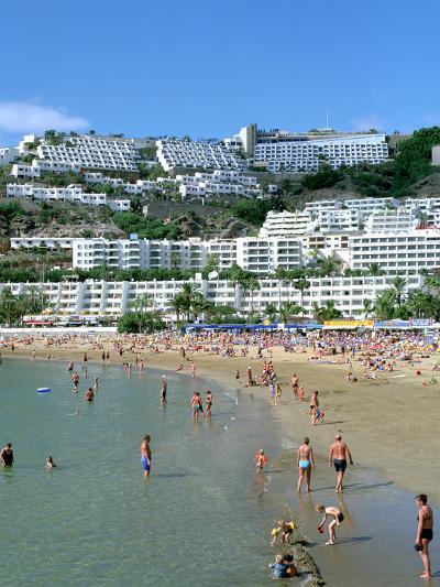 Beach, Puerto Rico, Gran Canaria, Canary Islands-Peter Thompson-Photographic Print