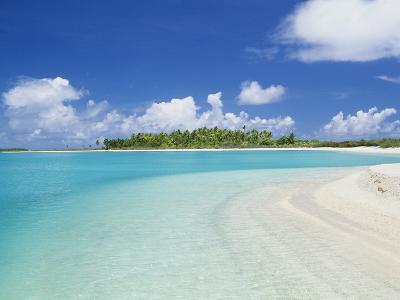 Beach, Rangiroa, French Polynesia-Douglas Peebles-Photographic Print